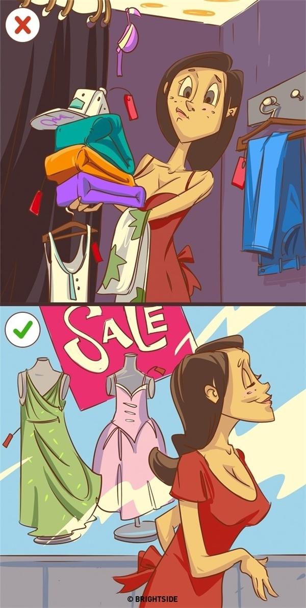 """Bạn nên cân nhắc trước khi mua một món đồ để không bị """"khô túi"""" khi cần phải làm nhiều việc khác."""