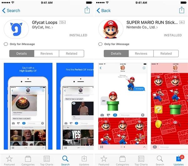 Apple vừa ra mắt kho đồ chơi hoành tráng cho iMessage mới