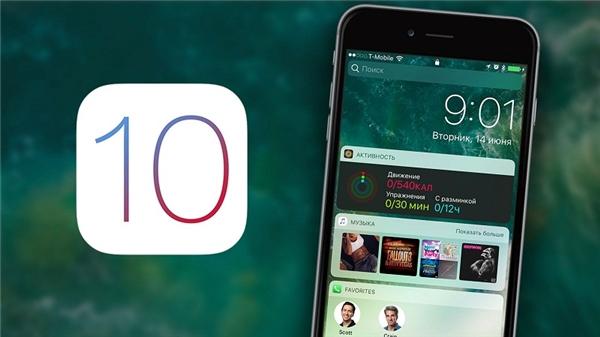 iOS 10 sẽ là một bản cập nhật hệ điều hành lớn của Apple. (Ảnh: internet)