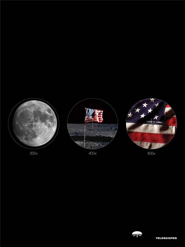 Kính thiên văn: Không còn bí mật nào trên mặt trăng.