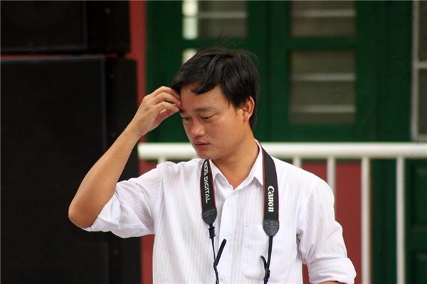 Thầy Trương Quang Anh Tuấn – tác giả bảng nội quy gây bão. (Ảnh: NVCC)