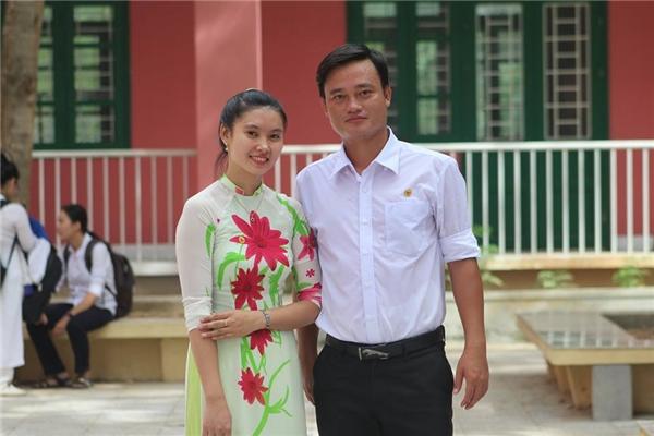 Thầy Tuấn nhận được sự yêu mến của nhiều thế hệ học trò. (Ảnh NVCC)
