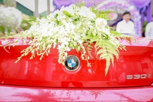 Xe rước dâu thuộc thương hiệu xe sang