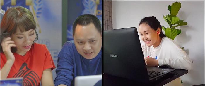 Ban giám khảo MMC 2016 giao lưu với thí sinh thông qua Video Call.