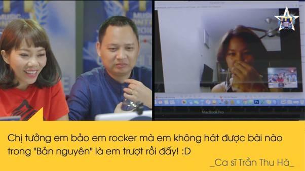 Hà Trần nói đùa về tiêu chí lựa chọn thí sinh nam.