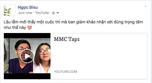 Khán giả yêu thích khi ban giám khảo MMC 2016 nhận xét chuyên môn rõ ràng.
