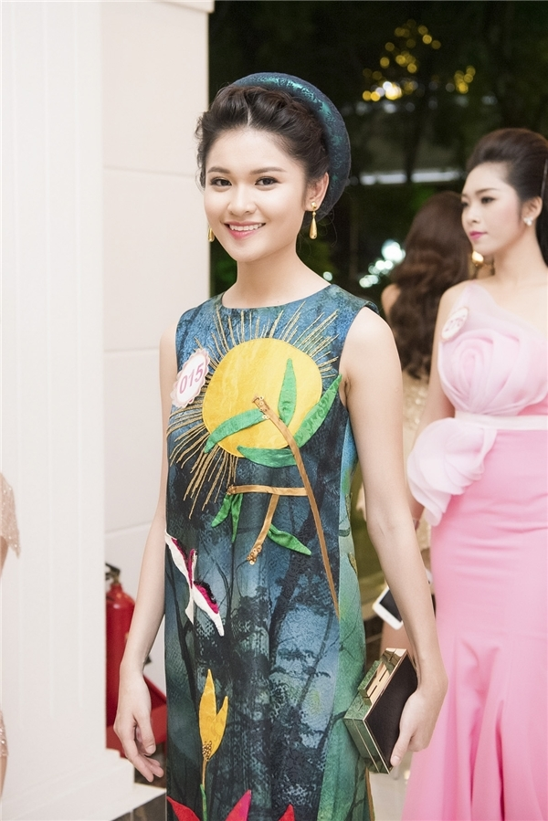 Á hậu Thùy Dung