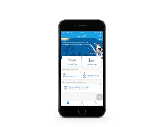 Thu hút 7 triệu lượt tải, ứng dụng đặt phòng Traveloka có gì hấp dẫn