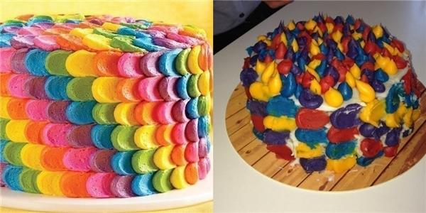 Chỉ là nhầm nhọt kem làm bánh với... sáp nến thôi mà.(Ảnh: BuzzFeed)