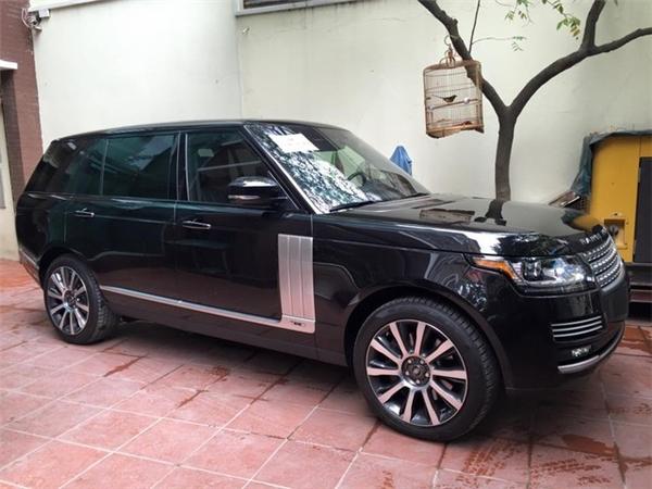 Bình Dương cũng sở hữu chiếc SUV hạng sang Range Rover LWB, có giá gần 10 tỷ đồng. - Tin sao Viet - Tin tuc sao Viet - Scandal sao Viet - Tin tuc cua Sao - Tin cua Sao