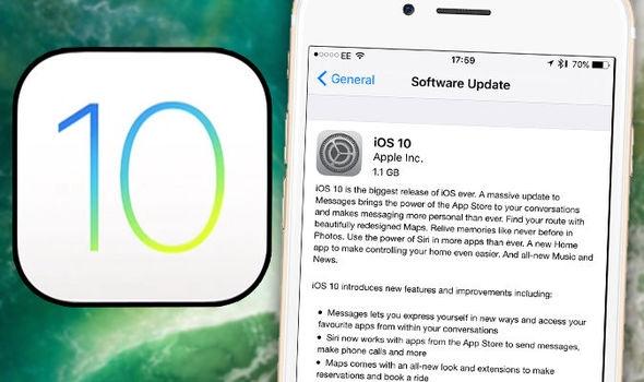 Từ iPhone 5 trở lên mới có thể sử dụng iOS 10. (Ảnh: internet)