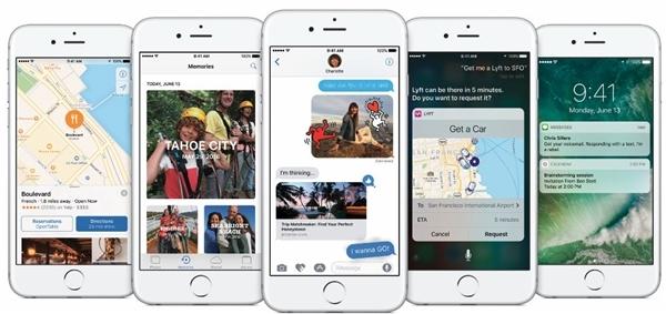 iMessage trên iOS 10 hoàn toàn mới. (Ảnh: internet)