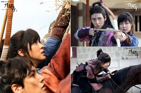 """Vẻ nam tính của """"đả nữ"""" thậm chí còn ăn đứt Ji Chang Wook."""