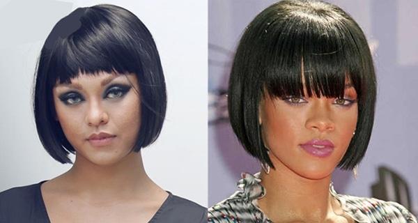 Mới đây, trong một buổi giao lưu trực tuyến với độc giả, Mai Ngô gây bất ngờ khi đội mái tóc giả theo phong cách maruko. Ngay lập tức, tạo hình của Á quân The Face Vietnam 2016 bị mang ra so sánh với nữ ca sĩ đình đám Rihanna bởi mái tóc tương tự. Không thể phủ nhận Mai Ngô trông rất thu hút và không hề kém cạnh.