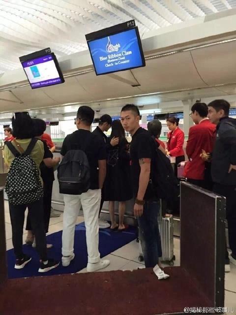 AngelaBaby mang bầu ba tháng, Huỳnh Hiểu Minh theo sát vợ không rời
