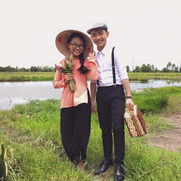Phương Mỹ Chi và bạn diễn Trung Quang trong MV Chờ người. - Tin sao Viet - Tin tuc sao Viet - Scandal sao Viet - Tin tuc cua Sao - Tin cua Sao