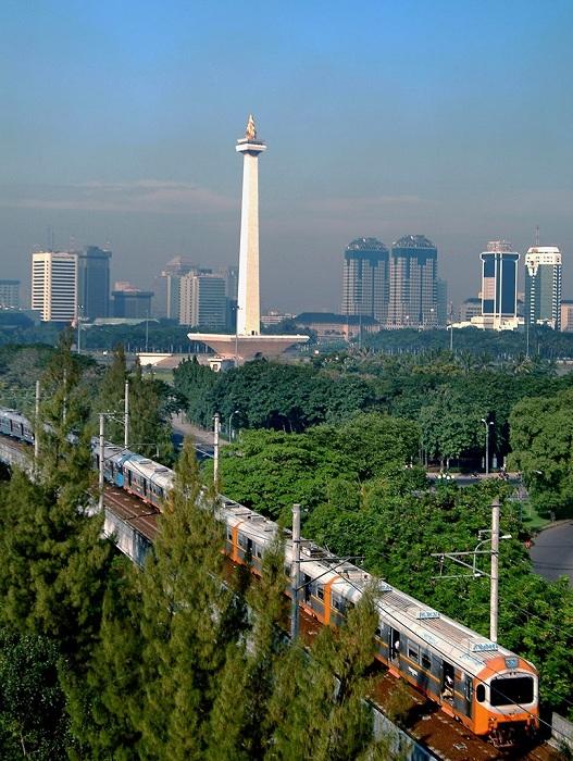 Thủ đô Jakarta.