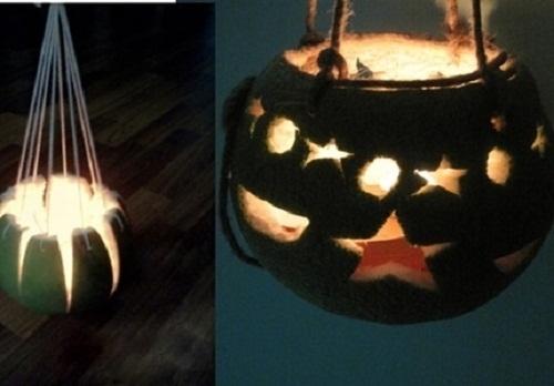 """Lồng đèn vỏ bưởi """"huyền thoại"""", vừa rực rỡ, lại vừa ngào ngạt thơm."""