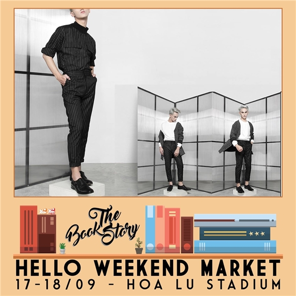 """""""Sống ảo"""" cùng The Book Story tại Hello Weekend Market"""