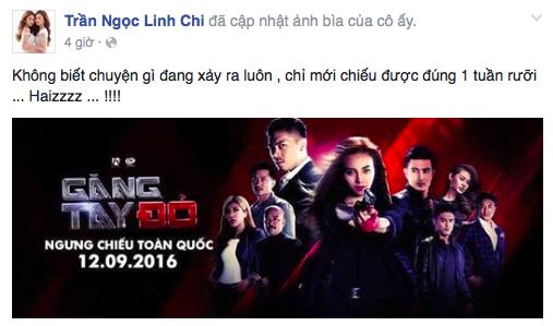 Trong khi đó, Linh Chi bày tỏ nỗihụt hẫng khi bộ phim đánh dấu vai diễn chính trong điện ảnh của cô gặp sự cố. - Tin sao Viet - Tin tuc sao Viet - Scandal sao Viet - Tin tuc cua Sao - Tin cua Sao