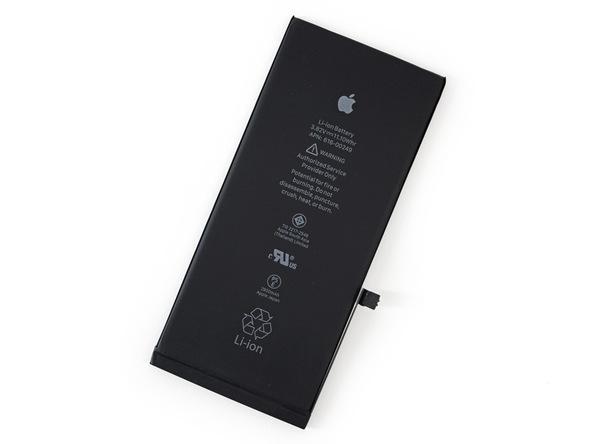 Pin của iPhone 7 Plus códung lượng 2915 mAh.(Ảnh: iFixit)