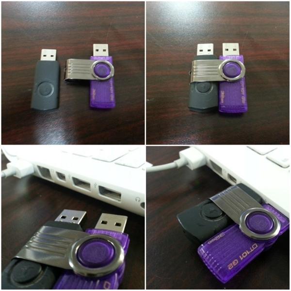 Hai chiếc USB này vốn sinh ra là dành cho nhau cơ mà.