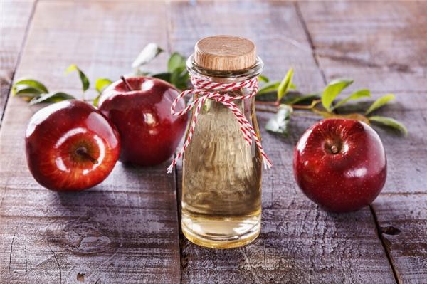 Giấm táo là loại gia vị có tính kháng khuẩn và giải độc cao.