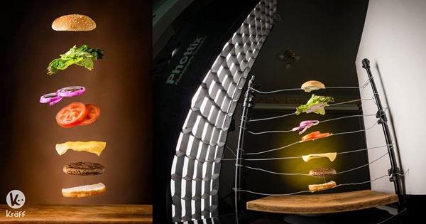 """Hóa ra thức ăn """"bay được"""" là do những sợi kẽm vô hình như thế này."""