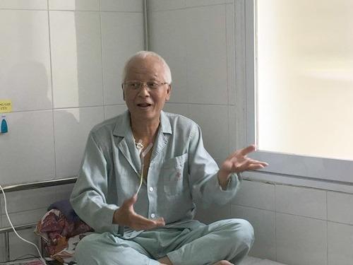 Bệnh tật hành hạ khiến nghệ sĩ Duy Thanh già và sút cân rấtnhanh. - Tin sao Viet - Tin tuc sao Viet - Scandal sao Viet - Tin tuc cua Sao - Tin cua Sao