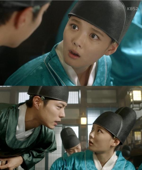 """Trong phim, cô nàng đóng vai một thiếu nữ giả trai, vô tình trở thành thái giám trong triều và chạm mặt với """"thế tử"""" Park Bo Gum."""