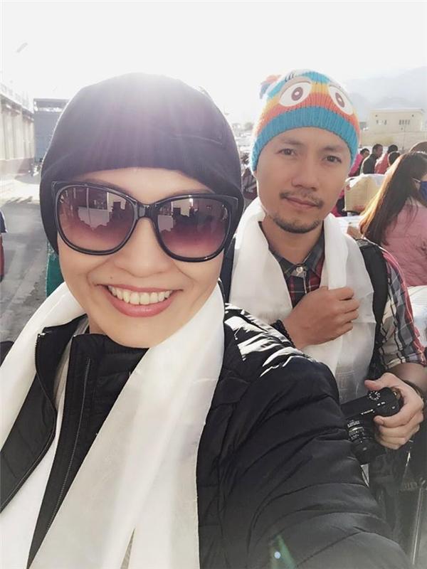 Cùng đồng hành với Phương Thanh trong chuyến đi này còn có sự tham gia của rapper Đinh Tiến Đạt. - Tin sao Viet - Tin tuc sao Viet - Scandal sao Viet - Tin tuc cua Sao - Tin cua Sao