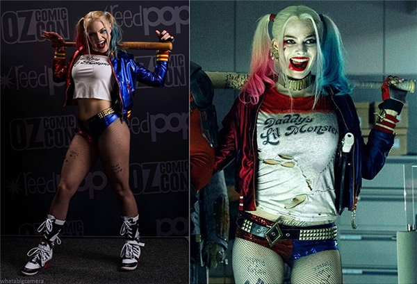 Mĩ nhân quyến rũ này chính là phiên bản đời thật của Harley Quinn