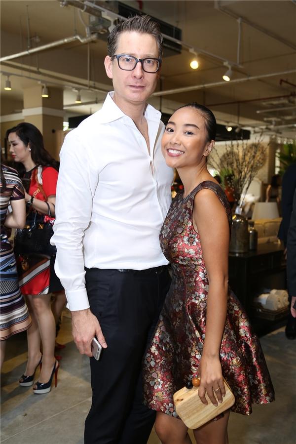 Đoan Trang và ông xã