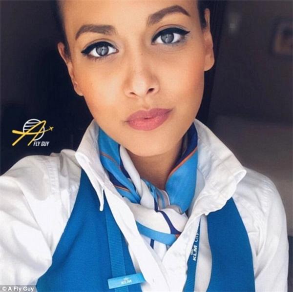 Đại diện tiếp viên hàng không đến từ hãng hàng không hoàng gia Hà Lan KLM Royal Dutch Airlines.