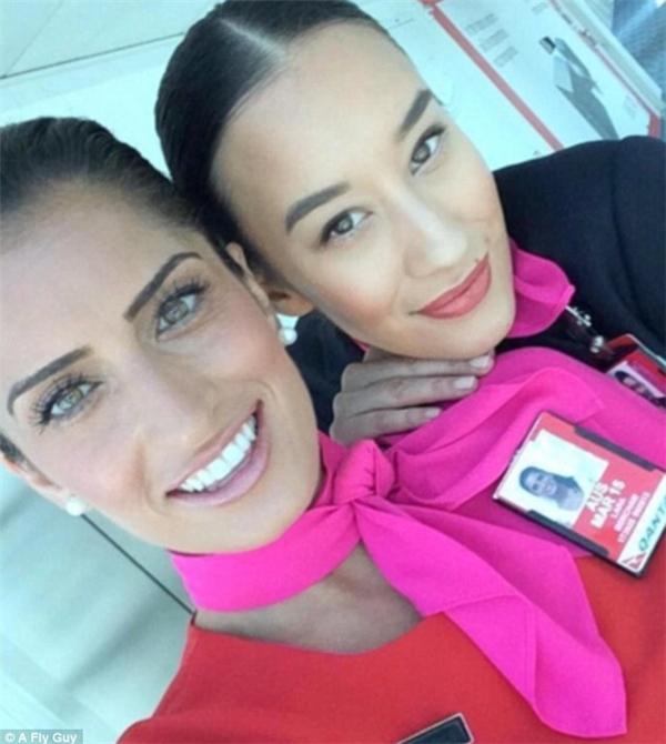 Đại diện của hãng hàng không Qantas.
