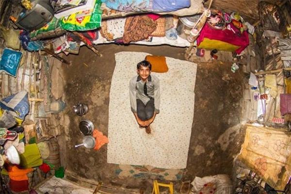 Phòng số 365 của Lalu tại Varanasi, Ấn Độ.