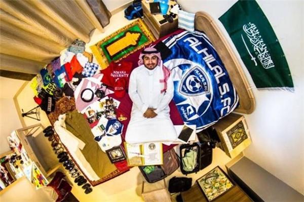 Phòng số 829 của Saleh tại Riyad, Saudi Arabia.
