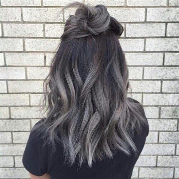 Những style nhuộm tóc xám khói tuyệt đẹp để diện vào mùa Thu năm nay