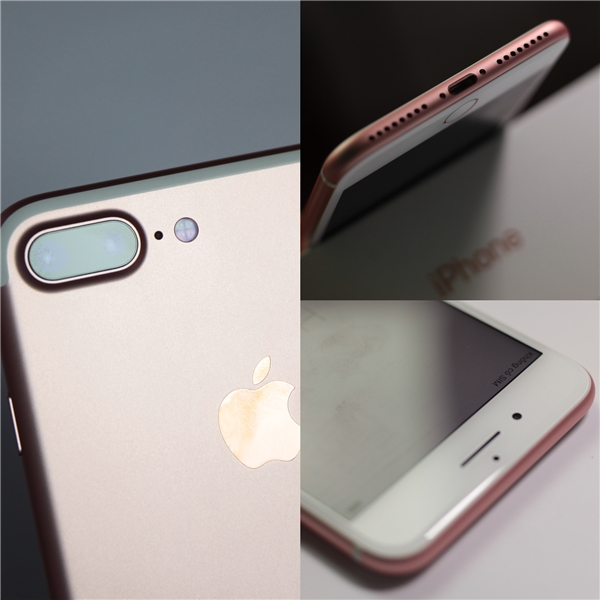 Cũng giống như iPhone 7, điểm nhận diện duy nhất để thấy sự khác biệt so với những thế hệ trước đó là cụm camera kép và dải loa stereo cùng dải ăng ten mới