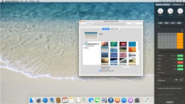 Giao diện Macbook rất đơn giản và dễ sử dụng. (Ảnh: internet)