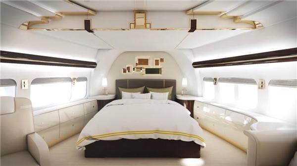 Thử tưởng tượng một ngày nào đó bạn được lim dim trên chiếc gường này và bay lượn khắp thế giới nào…(Ảnh: Business Insider)