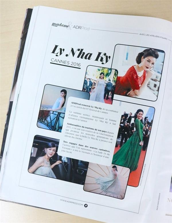 Lý Nhã Kỳ lại được báo chí nước ngoài khen ngợi - Tin sao Viet - Tin tuc sao Viet - Scandal sao Viet - Tin tuc cua Sao - Tin cua Sao