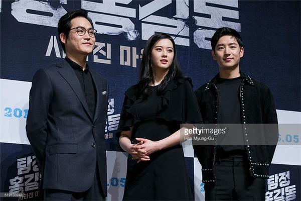 Kim Sung Kyun và Lee Je Hoon (1984), họ chỉ hơn nhau 4 tuổi nhưng trông cũng giống… bố và con trai đấy chứ