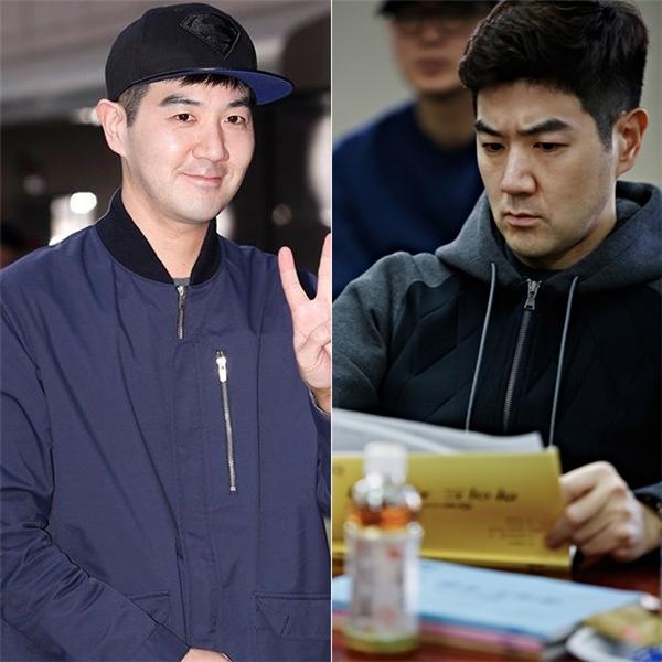 """Sinh năm 1977, nam diễn viên """"Angel's Eyes"""" Han Sang Jin có phần trẻ trung hơn Jo Jin Woong, tuy nhiên khi so với những đồng nghiệp cùng trang lứa, trông anh vẫn khá """"dừ"""""""