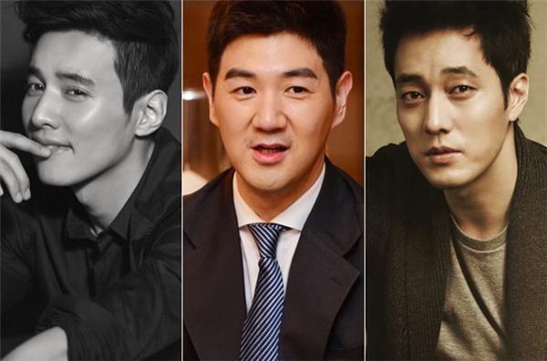 """Có lẽ vì năm 1977 sản sinh quá nhiều tường thành nhan sắc, như Won Bin hay So Ji Sub, nên Han Sang Jin mới có chút """"lép vế"""" như vậy."""