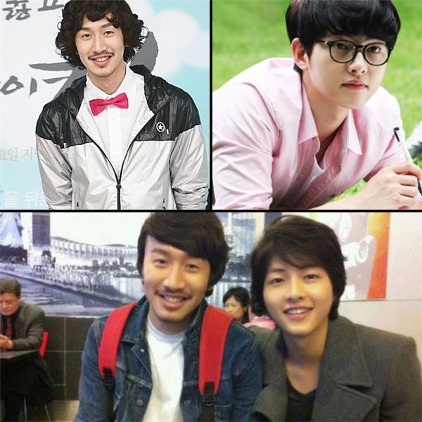 Thời Lee Kwang Soo còn để râu, không ai nghĩ đôi bạn thân này lại đều thuộc thế hệ 1985.