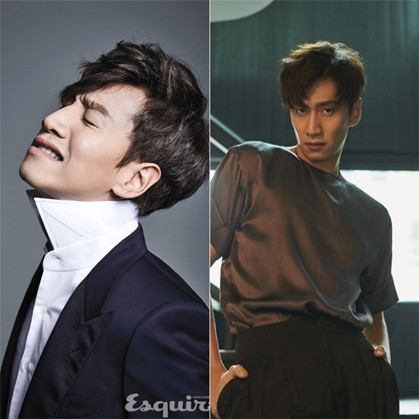 Tuy nhiên, chỉ cần tút tát một chút là nhan sắc của Lee Kwang Soo sẽ sáng bừng như thế này, cool ngầu chẳng kém Song Joong Ki một chút nào.