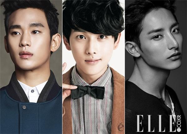 So với Kim Soo Hyun hay Lee Soo Hyuk cùng sinh năm 1988, trông Im Si Wan giống một cậu em 9X hơn.