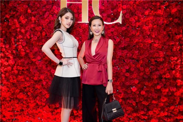 Thu Hoài và Jolie Nguyễn