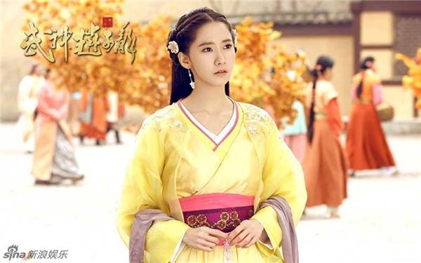 YoonA trong Võ thần Triệu Tử Long